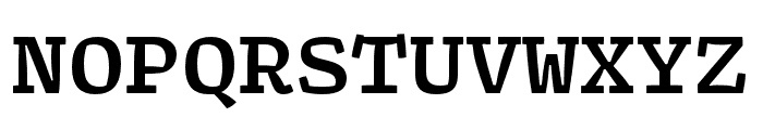 Array Mono Bold Font UPPERCASE