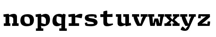 Array Proportional Black Font LOWERCASE