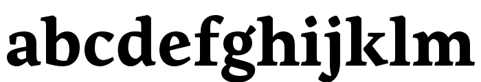 Artigo Bold Font LOWERCASE