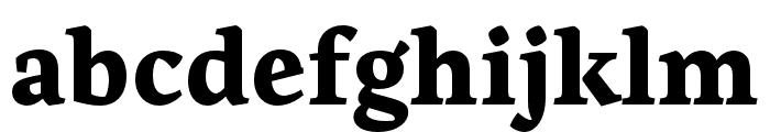 Artigo ExtraBold Font LOWERCASE