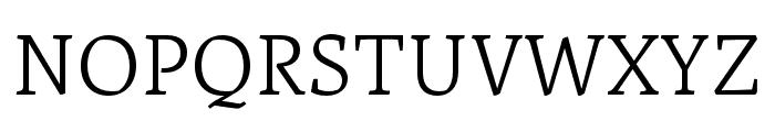 Artigo Light Font UPPERCASE