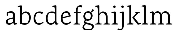 Artigo Light Font LOWERCASE