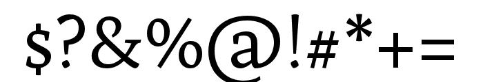Artigo Regular Font OTHER CHARS