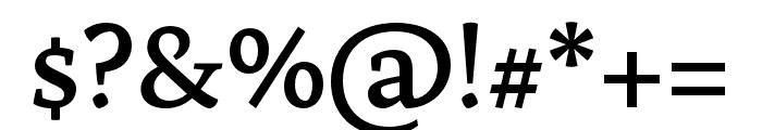 Artigo SemiBold Font OTHER CHARS