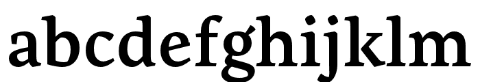 Artigo SemiBold Font LOWERCASE