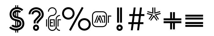 Arya Single Font OTHER CHARS
