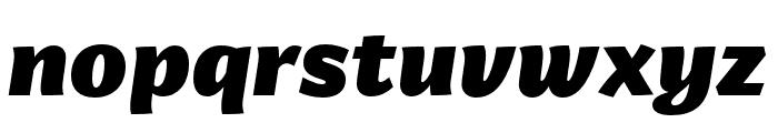 Arzachel Black Italic Font LOWERCASE