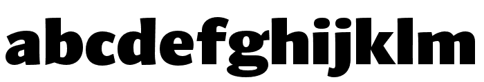 Arzachel Black Font LOWERCASE