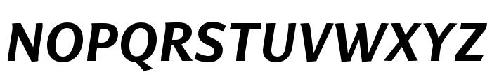 Arzachel Medium Italic Font UPPERCASE