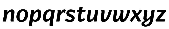 Arzachel Medium Italic Font LOWERCASE