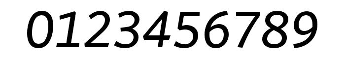 Arzachel Regular Italic Font OTHER CHARS