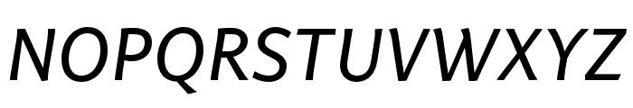 Arzachel Regular Italic Font UPPERCASE