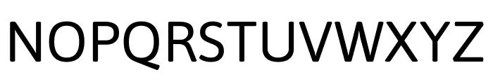 Asap Regular Font UPPERCASE