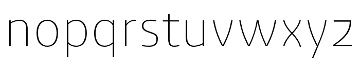 Ashemore Ext Thin Font LOWERCASE