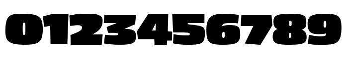 Asphalt BlackCondensed Font OTHER CHARS