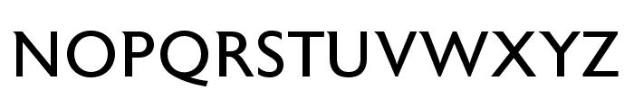 Astoria Roman Condensed Font UPPERCASE