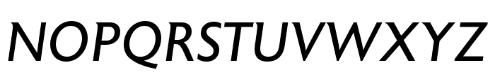 Astoria Roman Italic Font UPPERCASE