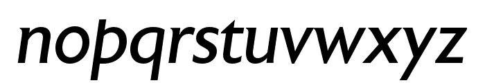Astoria Roman Italic Font LOWERCASE