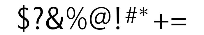 Astoria Sans Light Condensed Font OTHER CHARS