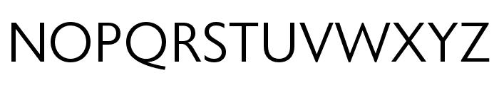 Astoria Sans Light Condensed Font UPPERCASE