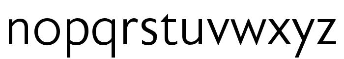 Astoria Sans Light Condensed Font LOWERCASE