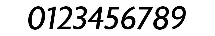 Astoria Sans Roman Italic Font OTHER CHARS