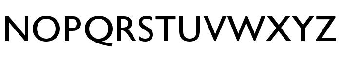 Astoria Sans RomanCondensed Font UPPERCASE