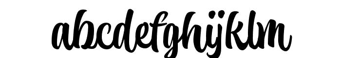 Atocha Regular Font LOWERCASE