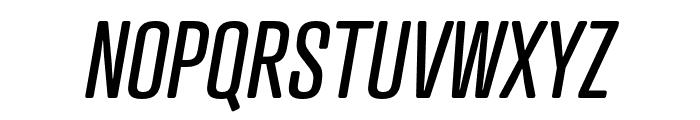 Atrament Italic Font UPPERCASE