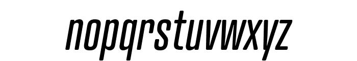 Atrament Italic Font LOWERCASE