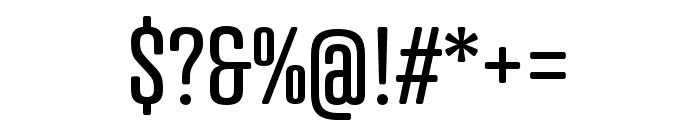 Atrament Regular Font OTHER CHARS