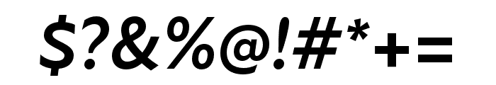 Atten New Bold Italic Font OTHER CHARS