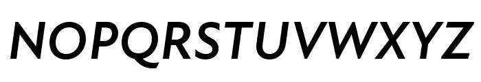 Atten New Bold Italic Font UPPERCASE