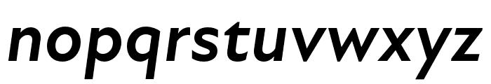 Atten New Bold Italic Font LOWERCASE