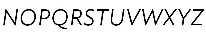 Atten New Book Italic Font UPPERCASE