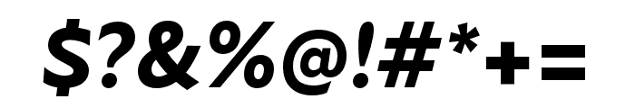 Atten New ExtraBold Italic Font OTHER CHARS
