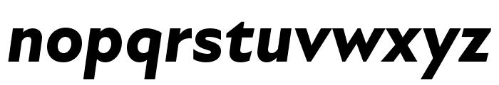 Atten New ExtraBold Italic Font LOWERCASE