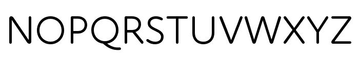 Atten Round New Book Font UPPERCASE