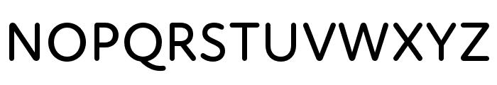 Atten Round New Medium Font UPPERCASE
