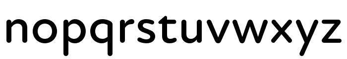 Atten Round New Medium Font LOWERCASE
