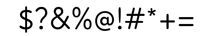 Atten Round New Regular Font OTHER CHARS