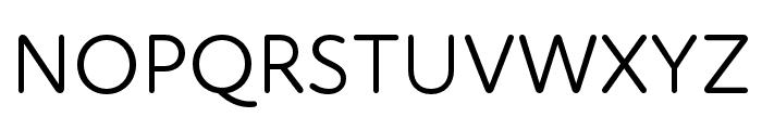 Atten Round New Regular Font UPPERCASE