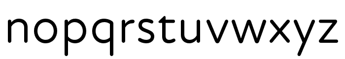 Atten Round New Regular Font LOWERCASE