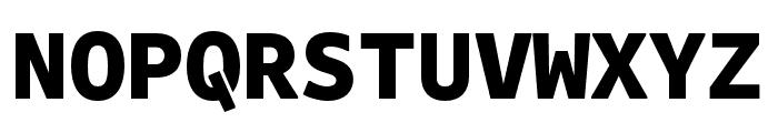 Attribute Mono Black Font UPPERCASE