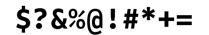 Attribute Mono Bold Font OTHER CHARS