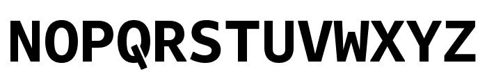 Attribute Mono Bold Font UPPERCASE