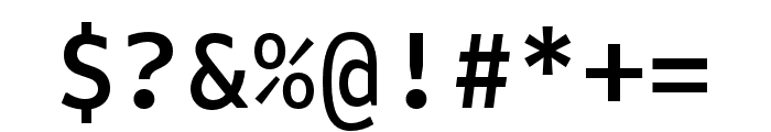 Attribute Mono Medium Font OTHER CHARS
