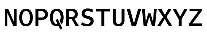 Attribute Mono Medium Font UPPERCASE