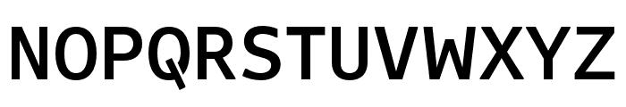 Attribute Text Medium Font UPPERCASE