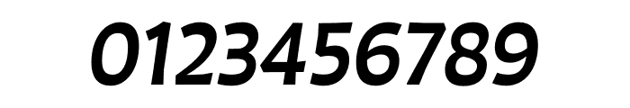 Auster Medium Italic Font OTHER CHARS